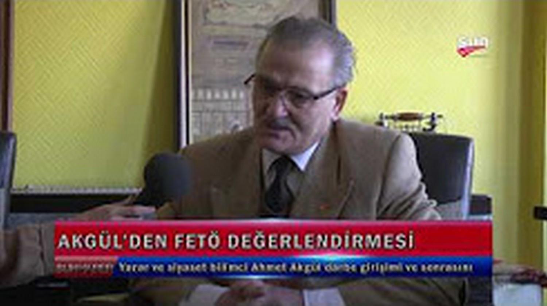 Araş. Yzr. Ahmet Akgül - Sun TV 03-11-2016 - Haber