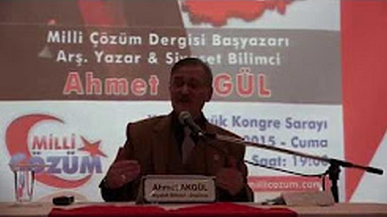 """Arş.Yzr.Ahmet AKGÜL """"Ülkemiz Üzerindeki Oyunlar"""" Gölcük Konferansı"""