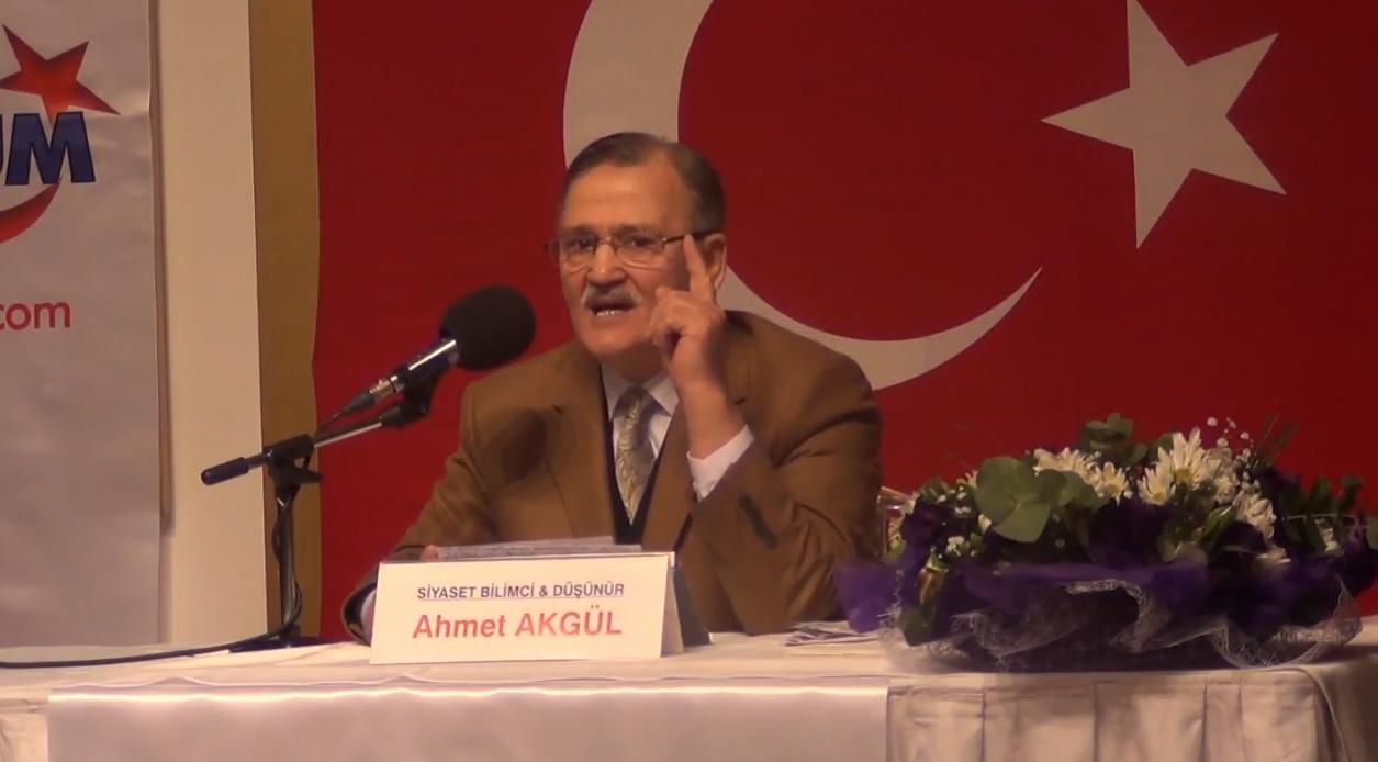 FECRİ KAZİP BİTİYOR; FECRİ SADIK BAŞLIYOR! - Siyaset Bilimci Düşünür Ahmet Akgül - 28 Ocak 2018
