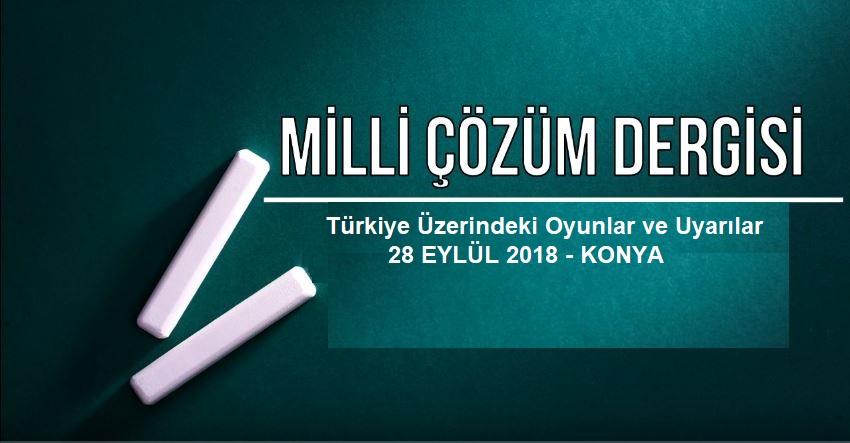 Türkiye Üzerindeki Oyunlar ve Uyarılar