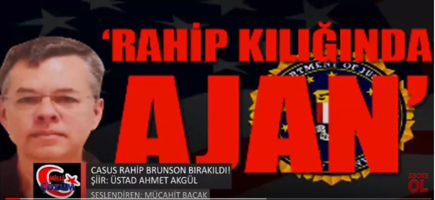 CASUS RAHİP BRUNSON BIRAKILDI