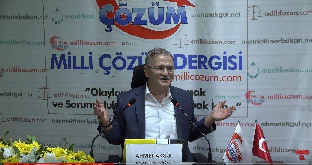 VİDEO! Yaratılış Gayemiz ve Mesuliyetlerimiz - Siyaset Bilimci Düşünür Ahmet Akgül - Konya