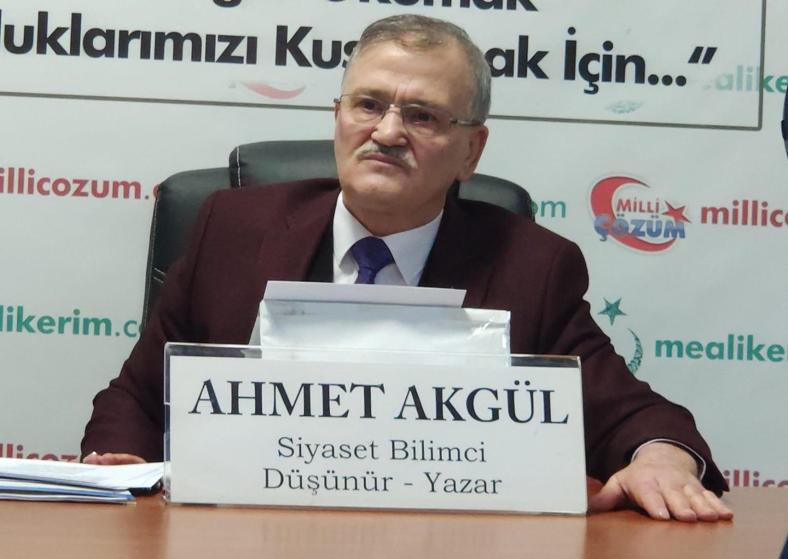 Meal-i Kerim'i Hazırlarken Nelere Dikkat Ettik Siyaset Bilimci-Düşünür Ahmet Akgül